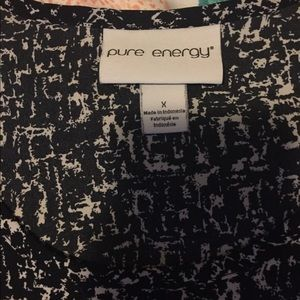 Pure Energy Tops - Pure Energy pattern blouse